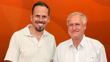 Achim Bogdahn und Detlev F. Neufert in Eins zu Eins. Der Talk
